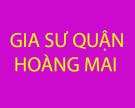 Tìm kiếm gia sư cho học sinh mất gốc tại quận Hoàng Mai