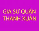 Tìm kiếm gia sư cho học sinh mất gốc tại quận Thanh Xuân